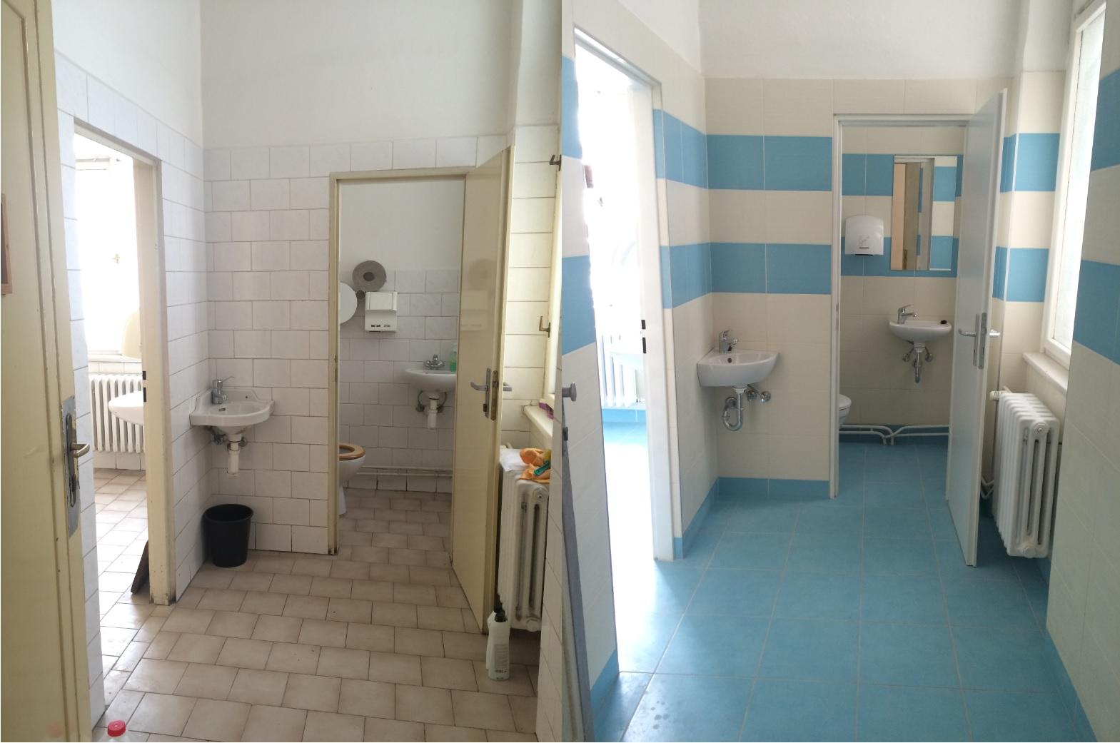 Rekonstrukce školních prostor