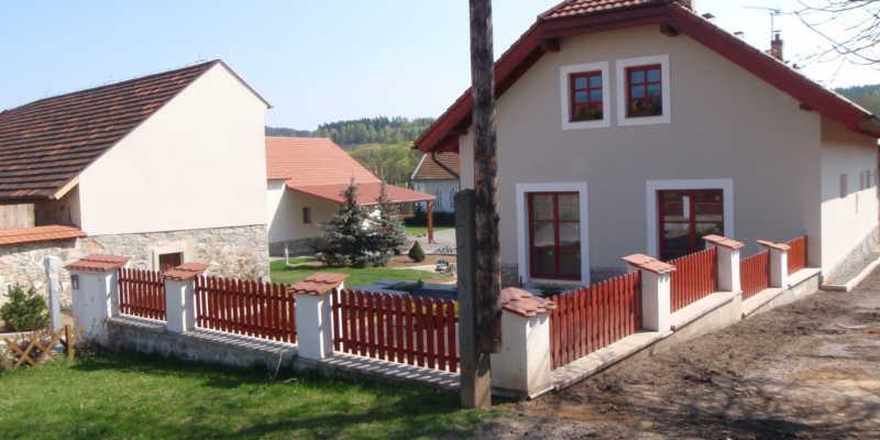 Rekonstrukce a výstavba rodinných domů